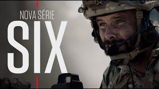 NOVA SÉRIE: SIX - ESQUADRÃO ANTI-TERRORISTA   SÁBADOS, 23h35   HISTORY