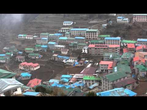 SANY0905.MP4 Namuche / Everest Trekking View