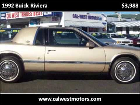 1992 Buick Riviera Problems Online Manuals And Repair