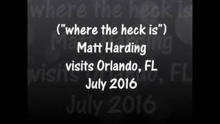 MATT HARDING IN FLORIDA 2016