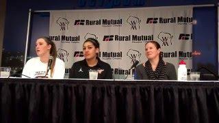 Verona girls hoops PostGame news conference