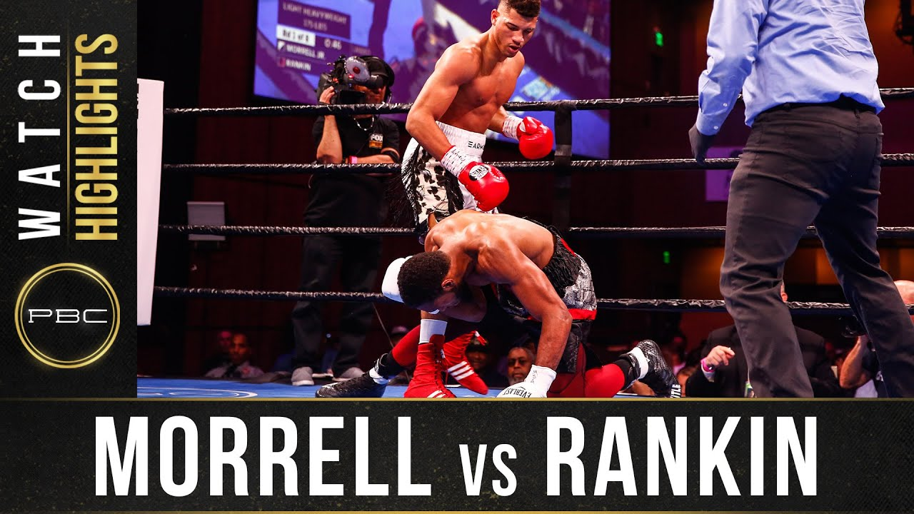 Morrell Jr vs Rankin Highlights: November 2, 2019