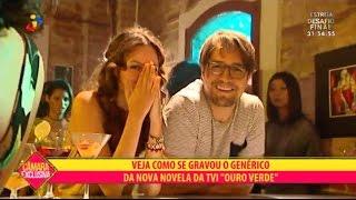 """Câmara Exclusiva - Nos Bastidores do Genérico de """"Ouro Verde"""""""