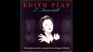 Edith Piaf — Johnny Tu N'Es Pas Un Ange