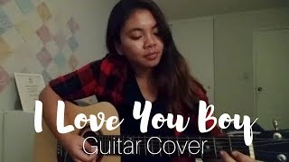 Suzy (수지) - I Love You Boy [당신이 잠든 사이에 OST] | Guitar Cover (TABS IN DESCRIPTION!)
