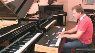 J. S. Bach - Zweistimmige Invention - F-Dur - Blüthner Digital PRO 88 - Linkshänder-Modusb12b