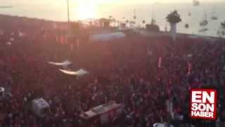 İzmir'de 250 bin kişi andımızı okudu !