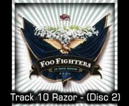 Foo Fighters de Razor Letra y Video