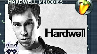 Hardwell best melodies in FL Studio Flp+ MIDI File |By OL7I