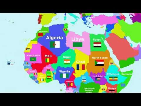 Africa - The Countries of the World Song - YouTube