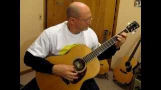 Tommy Emmanuel - Mombasa Cover by Ed Harp with Larrivee L-03
