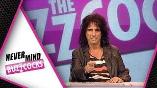 Alice Cooper On Meeting Elvis | Never Mind The Buzzcocks