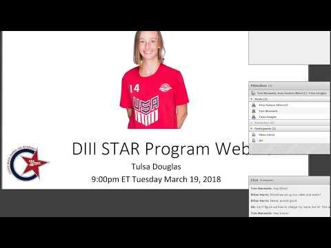 Video Thumbnail: STAR Webinar: Division III Teams (2018)