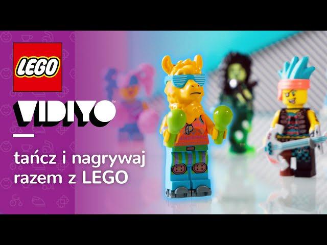 LEGO VIDIYO 🎼   Kręcimy teledysk z LEGO Alien DJ 43104, LEGO Party Llama 43105 i nie tylko