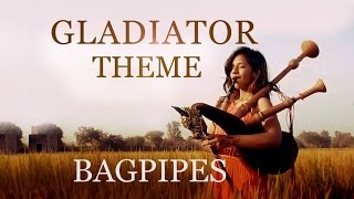 Now We Are Free - Bagpipe cover (Gladiator theme) | The Snake Charmer