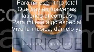 Enrique Iglesias Ritmo Total [piano + Con letra]