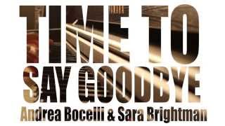 Time To Say Goodbye - Sarah Brightman & Andrea Bocelli - Piano Cover + Lyrics