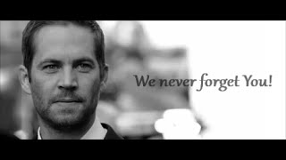 In Memory Of Paul Walker vs NFS Tribute Live In Peace
