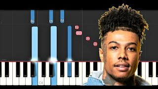 Blueface - Thotiana Remix ft YG (Piano Tutorial)