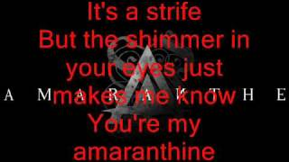 Amaranthe - Amaranthine [HIGH QUALITY] with lyrics