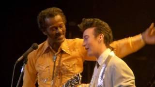 Chuck Berry & Julian Lennon - Johnny B Goode (1986)
