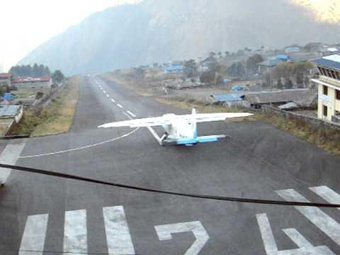 Nepal 2009 Lukla airport