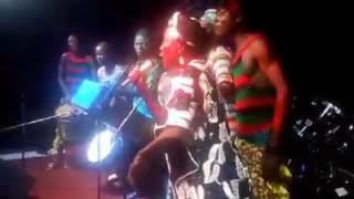 AMIE KALLON LIVE   MENDE CULTURE OF SIERRA LEONE