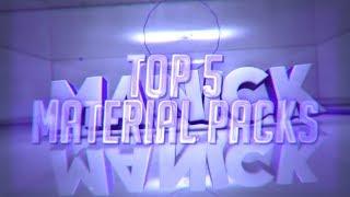 TOP 5 FREE MATERIAL PACKS (C4D) #1 - Prestige Intros