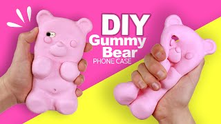 DIY | GIANT GUMMY BEAR PHONE CASE - Tutorial!