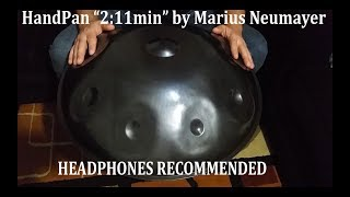 "HandPan ""2:11min"" by Marius Neumayer"