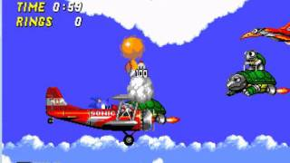 Sonic 2-Sky Chase Zone (Miles/Tails)
