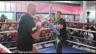 TOO FAST? - TYSON FURY SHOWS SENSATIONAL SPEED & MOVEMENT AHEAD OF RETURN AGAINST SEFERI