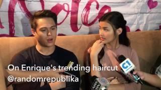 Video 9 of 9: Enrique Gil's trending haircut