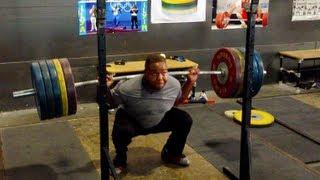 Jacobi Returns - 220 kg Squat