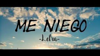 Reik - Me Niego ft. Ozuna, Wisin (Letra)