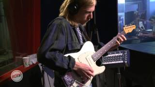 "Tennis performing ""Never Work For Free"" Live on KCRW"