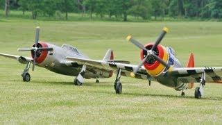 Rc P-47 Thunderbolt Moki 250cc - Joe Nall 2017