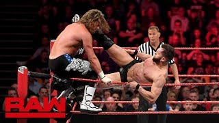 Braun Strowman & Finn Bálor vs. Drew McIntyre & Dolph Ziggler: Raw, May 14, 2018