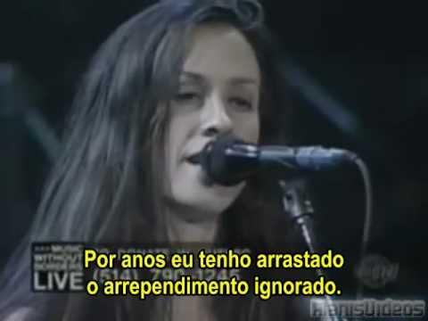 A Man En Portugues de Alanis Morissette Letra y Video