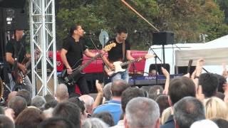 Republic zenekar - Jó reggelt kívánok (Győr-Marcalváros, Cirkusz tér 2014.08.19.)