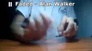 feded -  alan walker phiên bản pen tapping