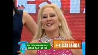 """Cantora MARIA LISBOA """"Roça Nesta Kizomba""""na Póvoa de Varzim (Portugal em Festa) Contacto para Shows"""