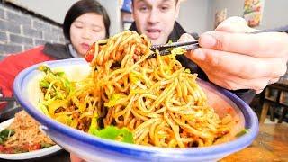 We're Going to SRI LANKA!!! SO PUMPED!!! + HUGE BOWL Chinese Street Food Dan Dan Noodle in Chengdu! width=
