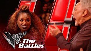 Sir Tom Jones & Jennifer Hudson's 'It's A Man's Man's Man's World' | The Battles | The Voice UK 2019