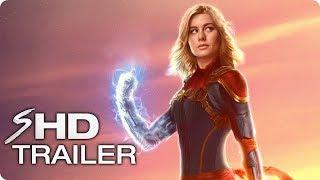 CAPTAIN MARVEL Teaser Trailer (2019) Brie Larson Marvel Movie [HD] Concept width=
