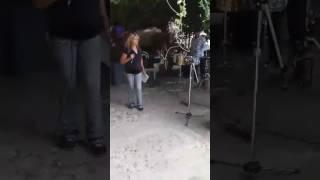 en un evento en Modesto Ca Camaron Pelao Betty la morena de Sinaloa