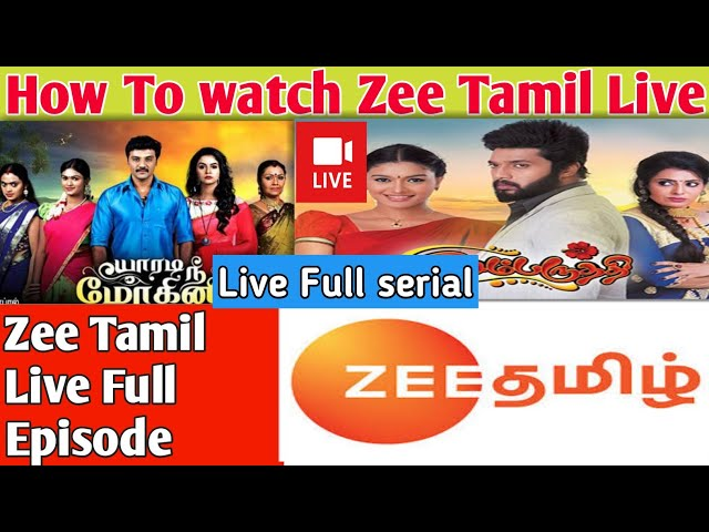 Download thumbnail for How To watch Zee Tamil Live channel   watch