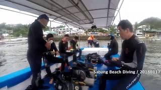 Sabang Beach Divig (2018 01 17)