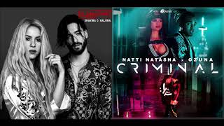 Criminal, Clandestino (Natti Natasha / Shakira / Ozuna / Maluma) DJ Blow Mashups