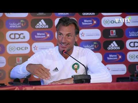 Video : Hervé Renard : «j'espère que cette équipe du Maroc sera la première à battre le Cameroun»